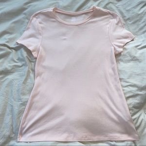 ✨4/$25 Old Navy Fitted Pink Basic Tee